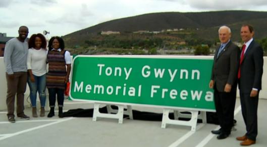 Tony Gwynn Memorial Freeway Dedicated in San Diego's North County